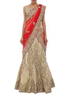 Unique And Stylish Indian Wedding-Bridal Lehanga-Choli-Sharara Dress Collection 2016 by Kalkifashion Pink Lehenga, Indian Lehenga, Lehenga Saree, Pakistani, Sarees, Punjabi Fashion, Indian Fashion, Lehenga Collection, Dress Collection