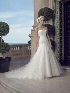 Casablanca Bridal Style 2203