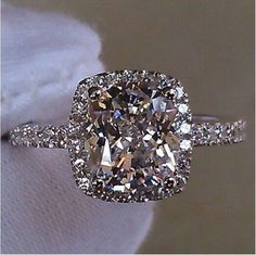 Stunning 3.0 Ct White Topaz Diamonique Cz 925 silver Wedding Ring Sz 5-10 #MySassyFashion #Solitaire