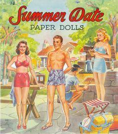Paper Dolls~Summer Date