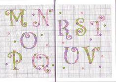 207 Fantastiche Immagini Su Alfabeti Punto Croce Cross Stitch
