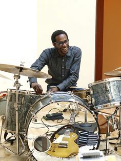 Brian Blade at The Temple by Daniel Lanois, via Flickr