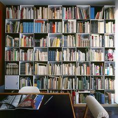 Libreria a parete o autoportante in alluminio estruso 606 UNIVERSAL ...