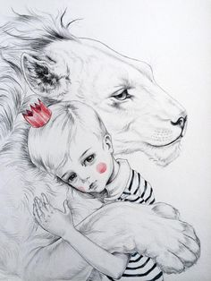 Kai Fine Art is an art website, shows painting and illustration works all over the world. Art And Illustration, Pop Art, Big Cats Art, Dark Pictures, Whimsical Art, Cute Drawings, Art Sketches, Art Inspo, Illustrators