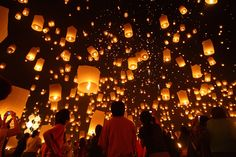Loy Krathong Festival, Thailand