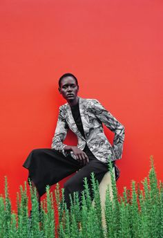 Ajak Deng by Julia Noni for Neiman Marcus March 2015 [Editorial[