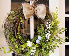 Spring wreath diy?