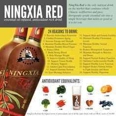 NingXia Red is one that I personally recommend to everyone and their dog… really! NingXia Red combines a puree of the extraordinary wolfberry superfruit with pure Orange, Yuzu, Lemon, and Tangerine essential oils, along with blueberry, aronia, cherry, pomegranate, and plum juices to deliver a whole-body nutrient infusion. This powerful formula includes wolfberry, which is touted for its health-supporting benefits, while Continue Reading