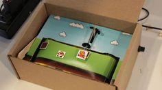 Video Game in a Box by Adam Kumpf. It's a video game in a box!