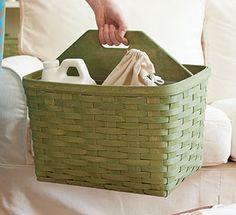 Longaberger Large Handy Helper Basket Beautiful colors to match any decor!