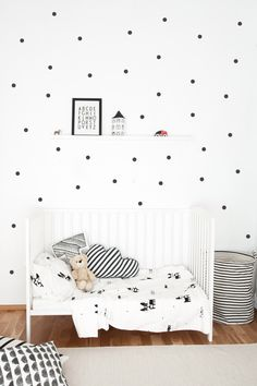 Little Dots - Wall Sticker by agumigu on Etsy https://www.etsy.com/listing/243198106/little-dots-wall-sticker