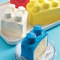 Legoklods kage