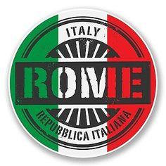 2 x Italy Verona Vinyl Stickers Travel Luggage Milan Italy, Rome Italy, Palermo Italy, Bologna Italy, Car Bumper Stickers, Flags Of The World, Glossier Stickers, State Art, Vinyl Decals