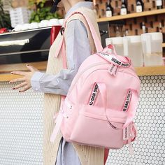 Menghuo Large Capacity Backpack Women Preppy School Bags For Teenagers Female Nylon Travel Bags Girls Bowknot Backpack Mochilas Bags For Teens, School Bags For Girls, Girls Bags, Cute Backpacks, Girl Backpacks, College Backpacks, Casual Backpacks, Leather Backpacks, Leather Bags