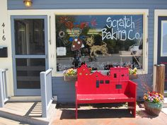 Scratch Baking Co. South Portland Maine; So I guess we will eat our way through this trip!! :)