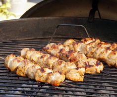 Lemon and garlic bring a burst of flavor to these grilled chicken skewers. Middle Eastern Shish Tawook will make a great addition to your next cookout!