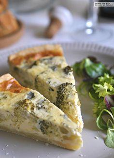 Te explicamos paso a paso, de manera sencilla, cómo elaborar la receta de quiche de brócoli y queso azul. Tiempo de elaboración, ingredientes, etc