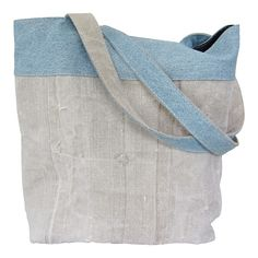 Shopper used fabrics: old canvas and jeans. Love it <3