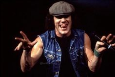 Rock And Roll Bands, Rock Bands, Rock N Roll, Ac Dc, Brian Johnson, Angus Young, Pretty Tough, Blues Rock, Great Bands