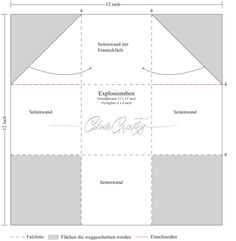 Tips for building an explosion box with standing walls - Stampin up - Geschenke Diy Gifts Paper, Diy Presents, Diy Paper, Stampin Up, Boite Explosive, Card In A Box, Diy 2019, Exploding Box Card, Origami Box