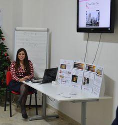 Anna Pernice all'Università Suor Orsola Benincasa per parlare di blogging e storytelling.