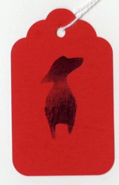 Dachshund Gift Tags by annewatkins #Gift_Card #Dachshund #annewatkins