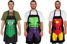$17 for a Superhero Cooking Apron - Shipping Included ($29 Value) I like Wonder Woman