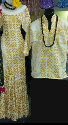 Samoa African Fashion Dresses, Fashion Outfits, Samoan Dress, Samoan Designs, Island Wear, Culture Clothing, Special Dresses, Different Dresses, Event Dresses