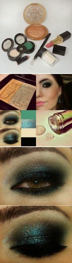 Dark Blue-Green