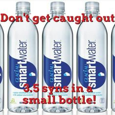 Smart water is syns! Slimming world