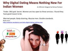 Why Digital Dating M