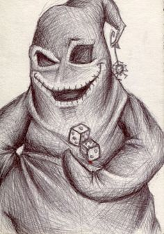 New Post nightmare before christmas oogie boogie drawing Creepy Drawings, Halloween Drawings, Halloween Art, Art Drawings, Group Halloween, Halloween Halloween, Halloween Decorations, Halloween Costumes, Tim Burton Art