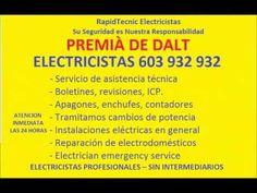 Electricistas PREMIÀ DE DALT 603 932 932 Baratos
