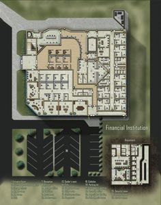 Financial Institution; shadowrun, floorplan