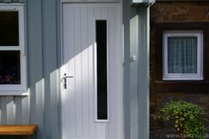 Bespoke porch entrance door.  Make a statement with one of our doors
