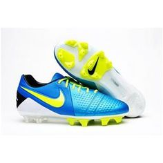 http://www.asneakers4u.com/ Mens Soccer Cleats Nike CTR360 Maestri III ACC FG Firm Ground Soccer Cleats  Blue Black Volt