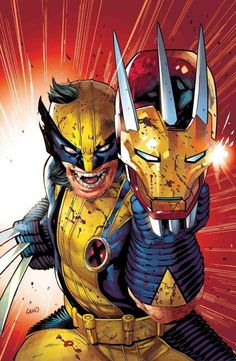 Will 'Avengers: Endgame' Directors Take on Wolverine in Marvel Phase Marvel Wolverine, Wolverine Vs Iron Man, Marvel Dc, Logan Wolverine, Marvel Heroes, Drawing Cartoon Characters, Marvel Characters, Comic Books Art, Marvel Universe