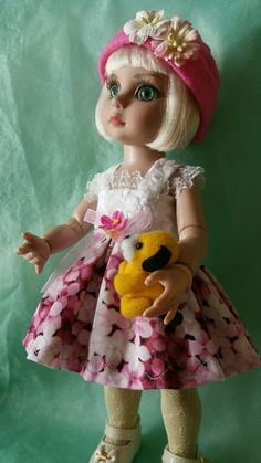 outfit clothes dress toy fits 10 inch Ann Estelle or  Patsy  10 inch BJD dolls