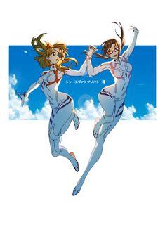 Neon Genesis Evangelion, Evangelion Mari, The End Of Evangelion, Character Inspiration, Character Art, Character Design, Rei Ayanami, Mecha Anime, Female Anime