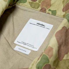 Visvim Achse Jacket (Olive Camo)