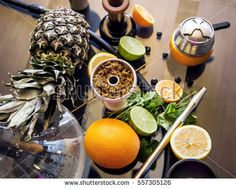 To do hookah bowl with citrus fruits