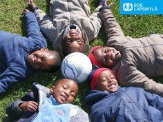 Naururinki. #jalkapallo #SOS-Lapsikylä #Lesotho