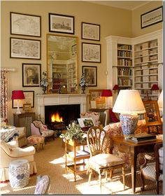 I could move right decorating house design home design English Manor Houses, English House, English Style, Home Interior, Interior Design, Interior Modern, Interior Ideas, Interior Decorating, Decorating Ideas