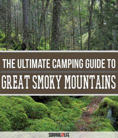Check out Great Smoky Mountains Camping | Survival Life National Park Series at http://survivallife.com/2015/10/02/great-smoky-mountains-camping/