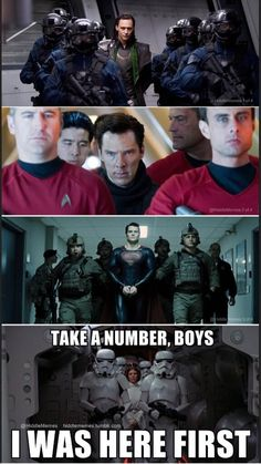 I dont get it? Why is Spock and Star Trek stuff in this?