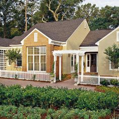 Live Oak Cottage   Looney Ricks Kiss Architects  Inc    Southern    Live Oak Cottage   Looney Ricks Kiss Architects  Inc    Southern Living House Plans   Home styles and inspiration   Pinterest   Southern Living  Southern