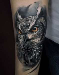 99 Wonderful Best Owl Tattoo, 60 Owl Tattoo Design Ideas with Watercolor Dotwork and, 113 Best Owl Tattoos with their Meaning which You Can Get, Owl Tattoo Photo Num 95 Best S Of Owl Tattoos — Signs Of Wisdom Wolf Tattoos, Animal Tattoos, Body Art Tattoos, Sleeve Tattoos, Owl Tattoo Design, Tattoo Designs, Perseverance Tattoo, Realistic Owl Tattoo, Tattoo Feminin