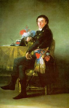 Francisco de Goya: Ferdinand Guillemardet, 1798
