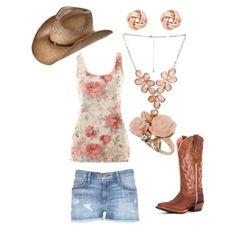 country girl fashion   country fashion~~   Country Girl :)