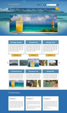 A perfect and free wordpress theme for travel and tourism agencies, it includes photo gallery, several page options, contacts, ecommerce and more amazing f Travel And Tourism, Wordpress Theme, Blogging, Web Design, Design Inspiration, Inspired, Free, Design Web, Website Designs